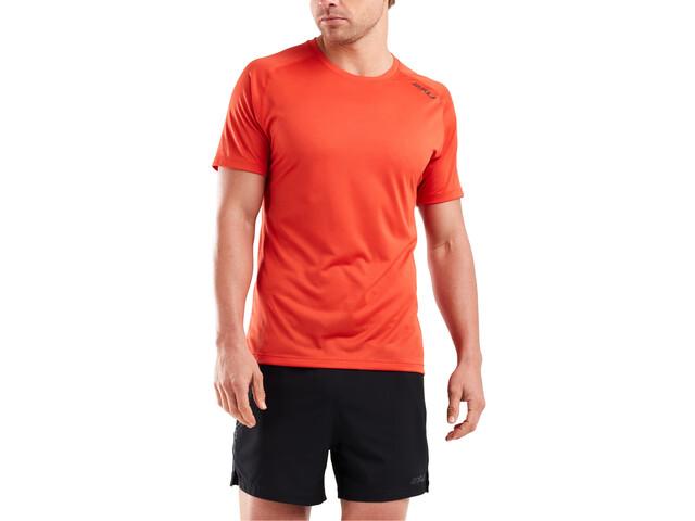 2XU GHST Shortsleeve T-Shirt Men, terra/black reflective